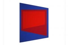 Screen [blue / magenta / red], 1972, screenprint, 76 x 56 cm, edition of 25